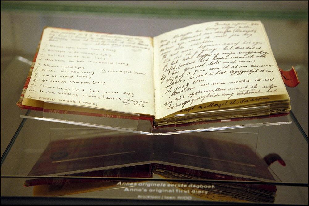 Citaten Uit Dagboek Anne Frank : Dagboeken anne frank mochten worden gekopieerd