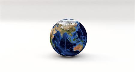 illustratieve afbeelding van wereldbol