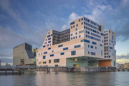 Paleis van Justitie in Amsterdam